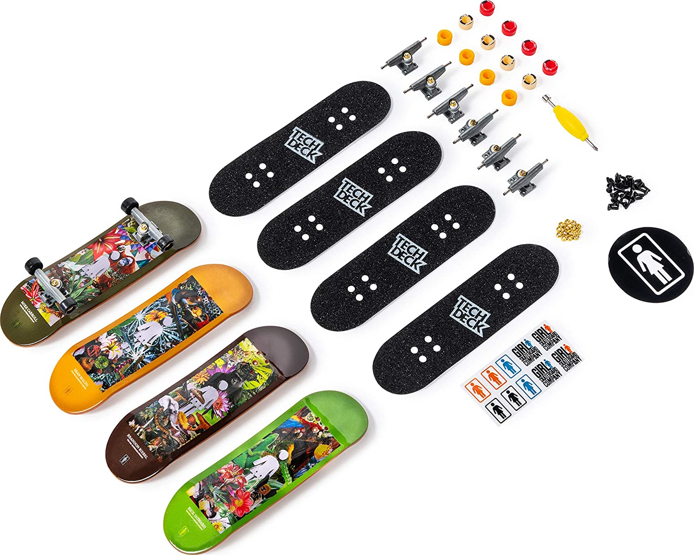 Fingerskate Tech Deck Spinmaster pack de 4