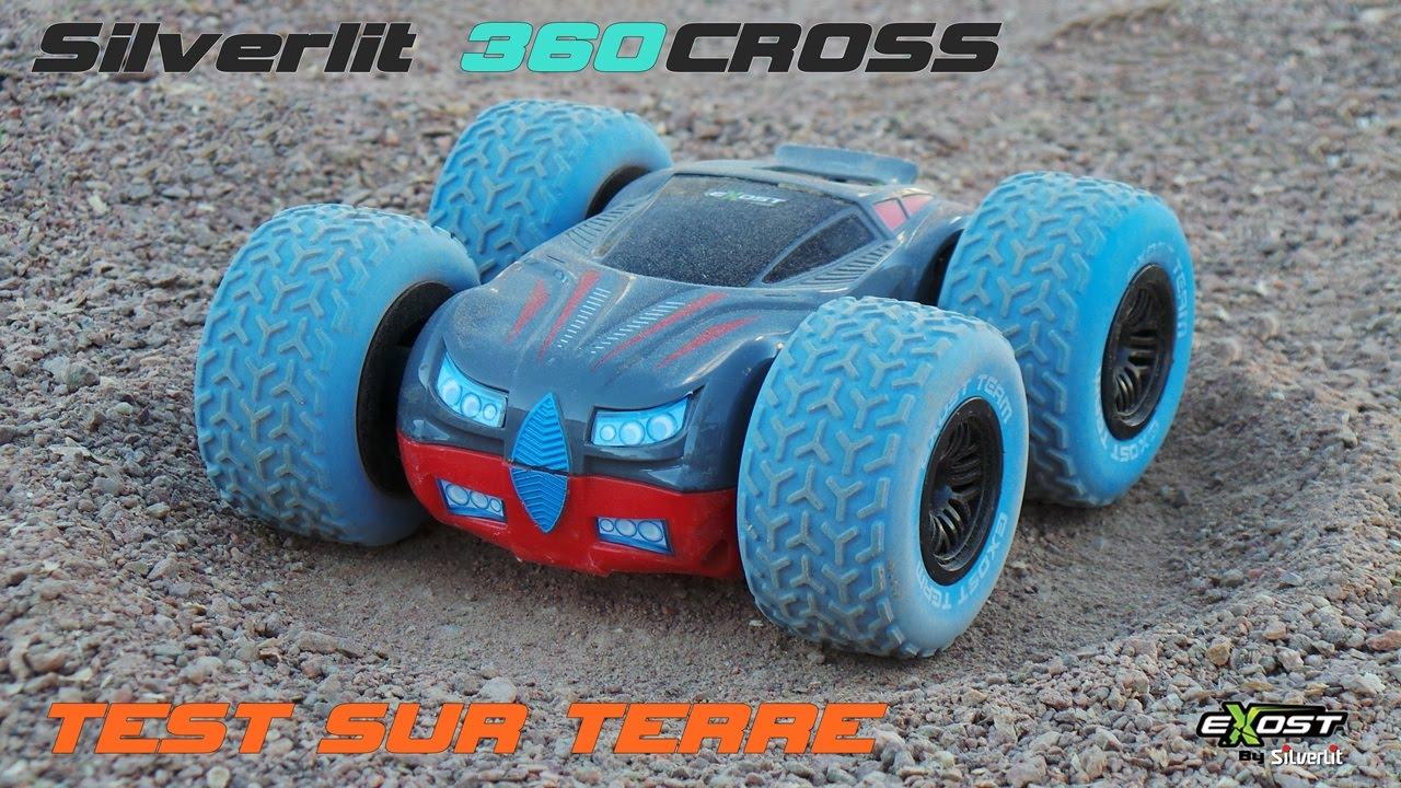 test voiture 360 cross exost