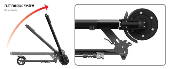 electric foldable kick scooter tt v2 iconbit