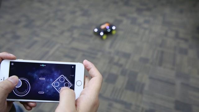 Contrôle à distance robot turtle DFRobot