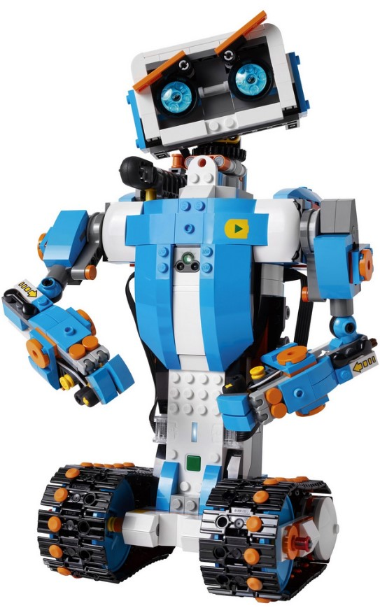 Vernie the robot lego boost