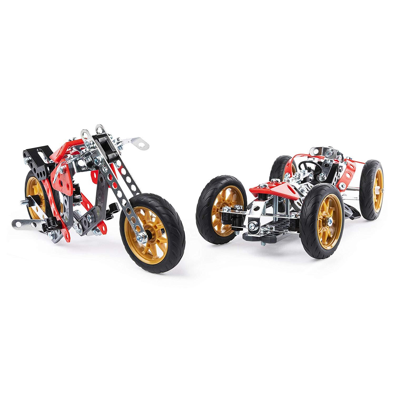 Meccano voiture et moto 6053371