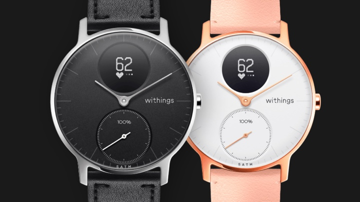 Withings steel HR connected watch